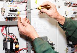 تعمیر و اصلاح شبکه برق ساختمان مرکز مشاوره مدرسه