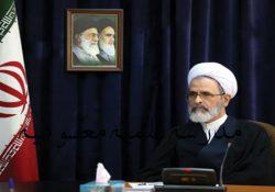 دیدار مدیر مدرسه علیمه معصومیه با حضرت آیت الله اعرافی