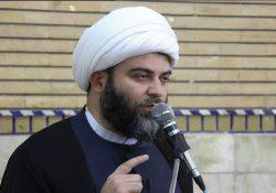 دیدار حجت الاسلام و المسلمین قمی با طلاب مدرسه علمیه معصومیه