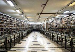 بازدید از بزرگترین کتابخانه ایران و سومین کتابخانه جهان