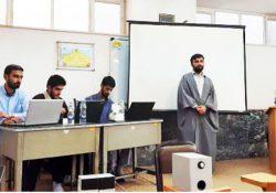 برگزاری کرسی بحث علمی احکام فقهی انتخابات مسئولان