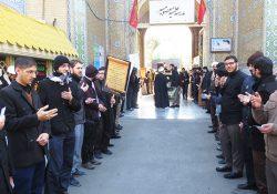 دسته عزاداری طلاب مدرسه علمیه معصومیه به مناسبت شهادت حضرت زهرا (سلام الله علیها)