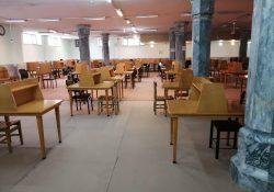 امکان استفاده از مخزن کتاب و سالن مطالعه کتابخانه مدرسه علمیه معصومیه